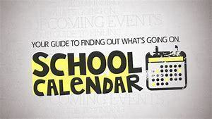 2019-2020 School Calendar Now Available