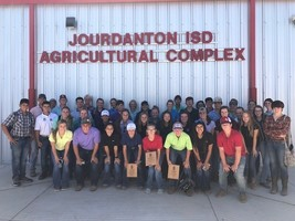 Jourdanton Attends Fall CDE Contest at Peeler Ranch