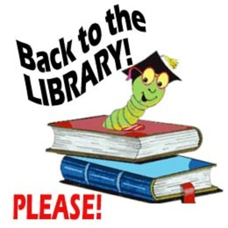 Please return Library books ASAP!